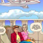 Seduced Amanda - Adventure on a Plane